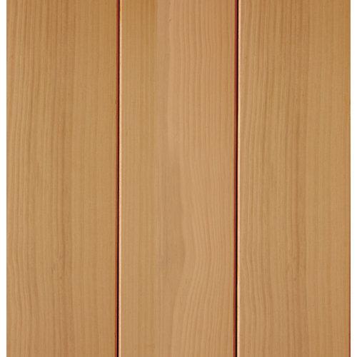 Revestimiento de pared de madera pino roble