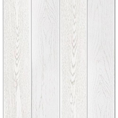 Revestimiento de pared de mdf fresno blanco 15x0.8x260 cm