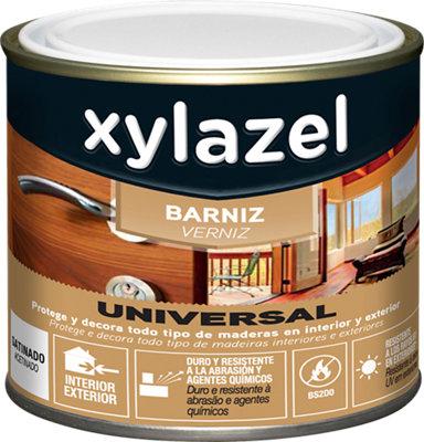 Barniz universal XYLAZEL satinado 750 ml incoloro