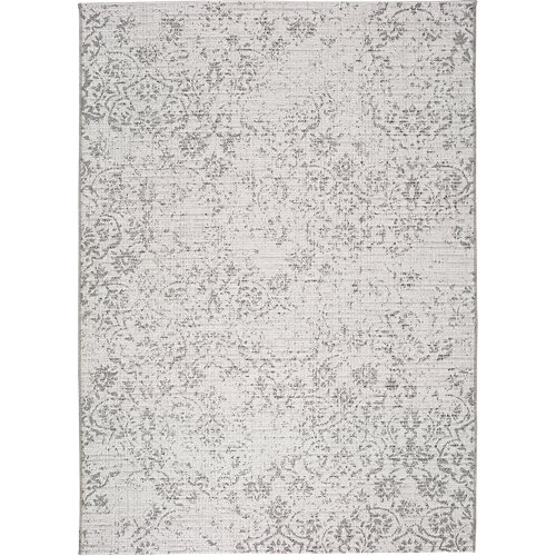 Alfombra gris polipropileno in-out weave 6470 155 x 230cm