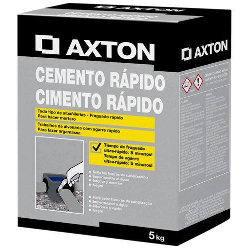 Cemento rápido axton 5 kg
