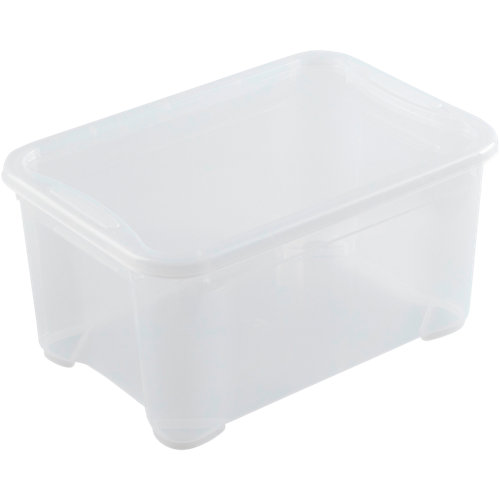 Caja spaceo de 19x38x26.5 cm y capacidad de 14l