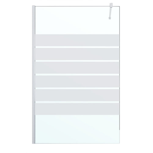 Panel de ducha cool life transparente, serigrafiado 130x200 cm