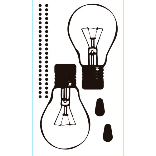 Sticker wa xs lamp adh. 59005 30x15