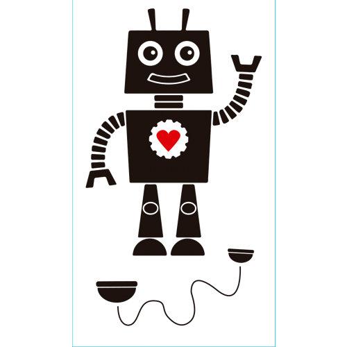 Sticker wa xs robot adh. 59008 30x15