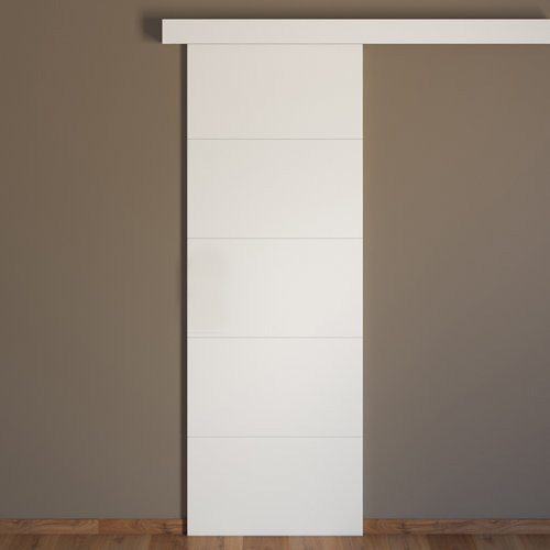 Conjunto puerta corredera holanda 62,5 cm