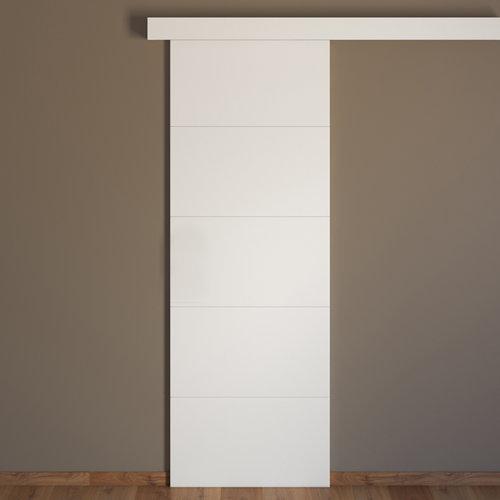 Conjunto puerta corredera holanda 72,5 cm