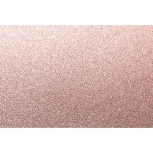Mini rollo purpurina rosa 67,5x200 cm