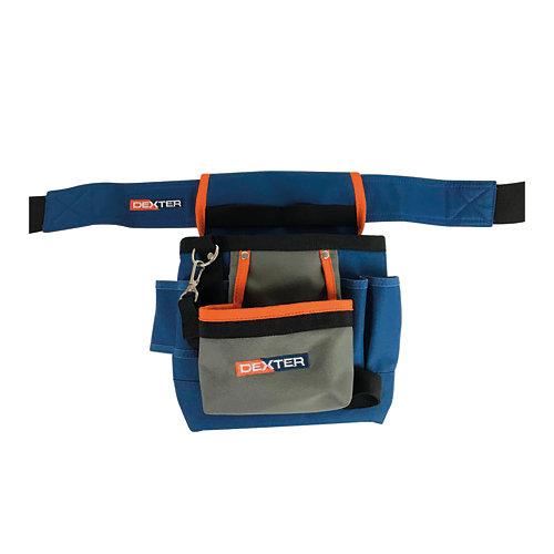 Cinturón portaherramientas dexter de 7 bolsillos