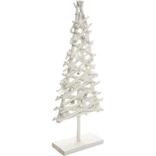 Árbol de navidad blanco 59 cm
