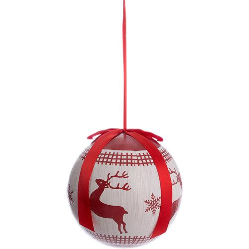 Bola decorativa navideña b ø 25 cm