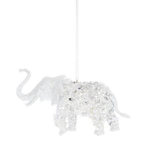 Figura navideña elefante 11,5x7 cm