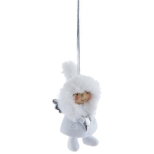 Adorno colgante de ángel navidad 8,5 cm