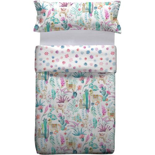 Funda nórdica multicolor para cama 90 / 105 cm