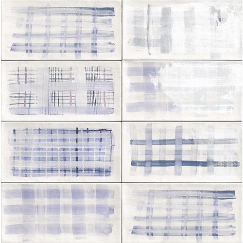 Ceramica cocina o baño/ deco aquarel blu/mainzu/azul 15x30
