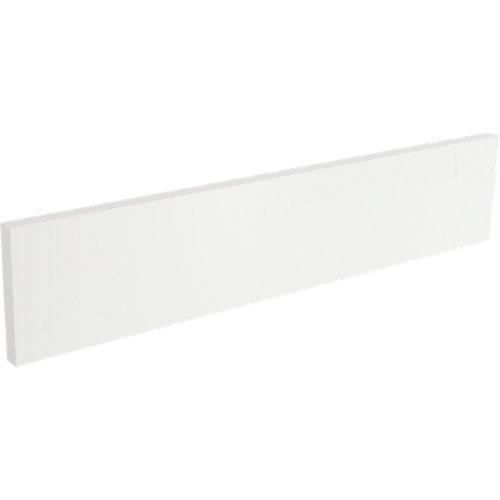 Frente para mueble de cocina atenas blanco brillo 128x600 cm