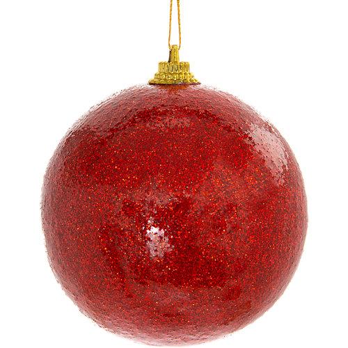 Bola de navidad colgante cobre/dorado/rojo ø 8 cm