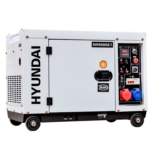 Generador diesel fullpower hyundai dhy8600se de 6kw /7,9kva