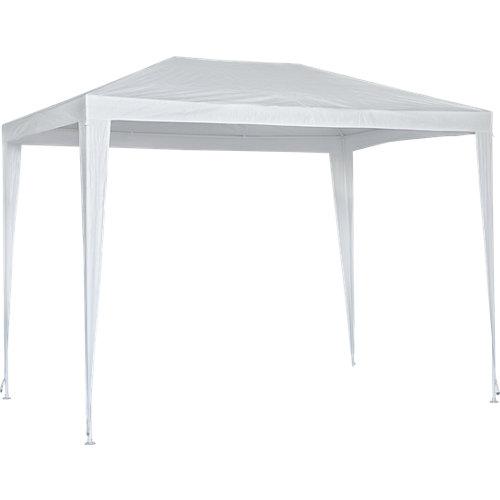 Cenador de acero basic blanco de 190x290 cm