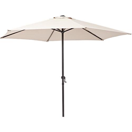 Comprar Parasol redondo de acero naterial polar marrón ø262 cm