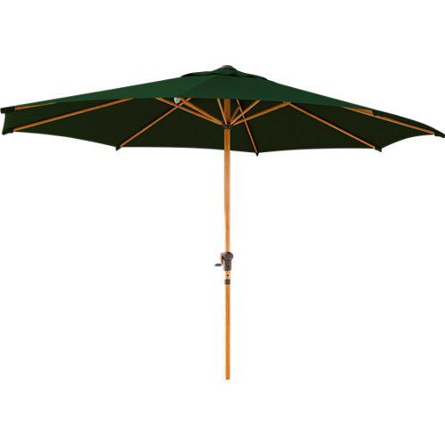 Parasol acero octogonal naterial ágora verde 290x290 cm