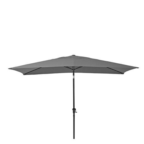 Parasol de aluminio naterial avea antracita 200x300 cm
