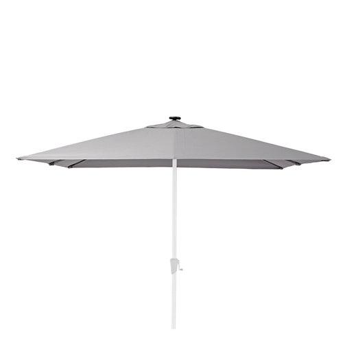 Toldo parasol exterior naterial sonora led topo