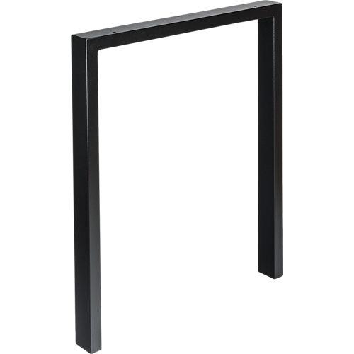 Pata de acero para mesa y pie de polietileno 58x69,5 cm