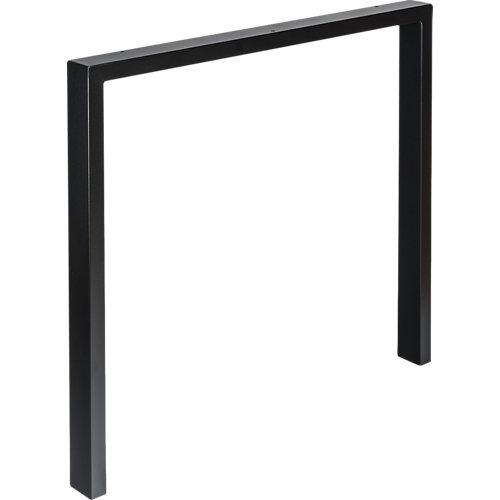 Pata de acero para mesa y pie de polietileno 78x69,5 cm