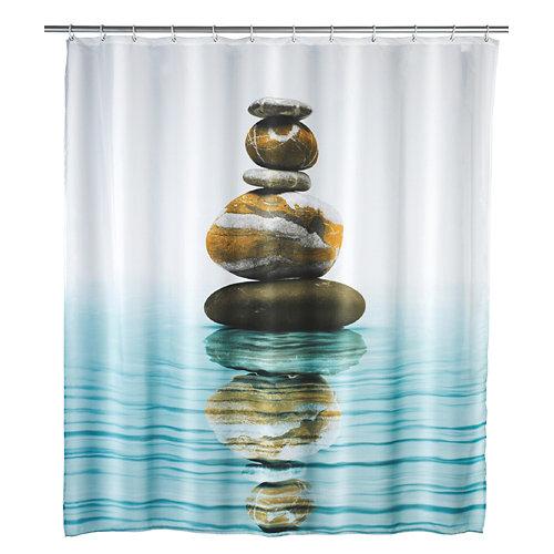Cortina de baño multicolor 180x200 cm