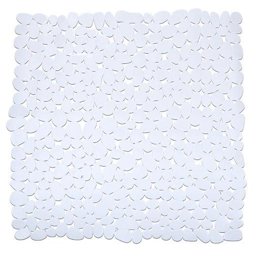 Alfombra antideslizante paradise blanco 54s54 cm