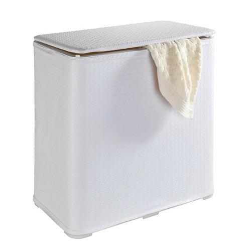 Cesto ropa wanda blanco 65 litros