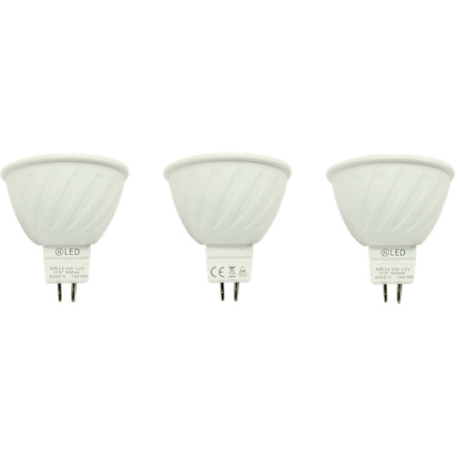 Pack de 3 bombillas led 5w blanco neutro