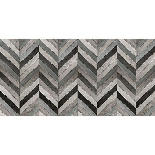 Rollo adhesivo chevron gris 1x2 m