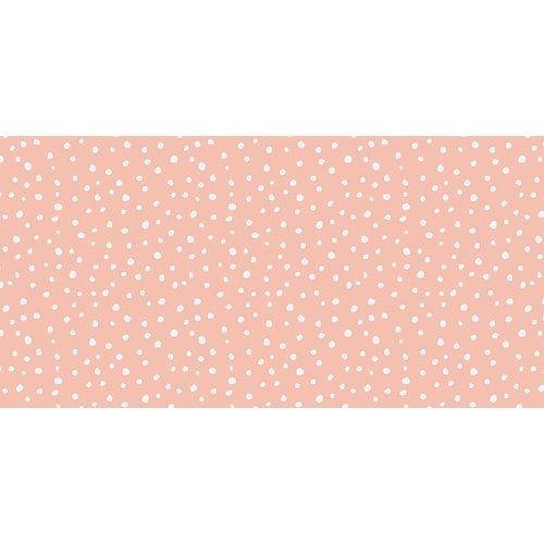 Rollo adhesivo infantil irregular dots pink 1x2 m