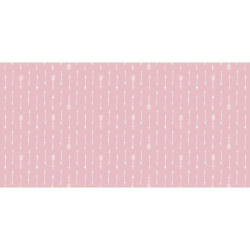 Rollo adhesivo infantil indios rosa 1x2 m