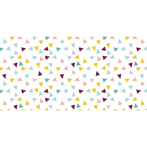 Rollo adhesivo infantil confetti 1x2 m