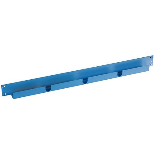 Pack 2 largueros para estantería de metal epoxi de 6.5x60x3 cm