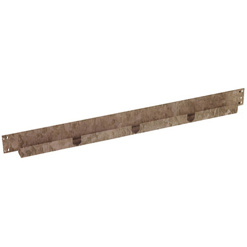 Pack 2 largueros para estantería de metal epoxi de 6.5x40x3 cm