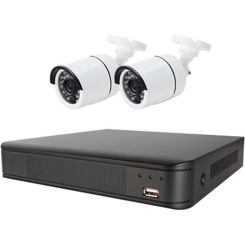 Sistema de videovigilancia cctv con 2 cámaras energeeks