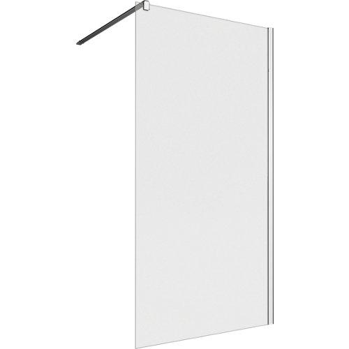 Panel de ducha neo transparente perfil cromado 100x200cm
