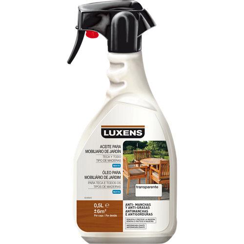 Aceite de teca agua luxens 500 ml incoloro