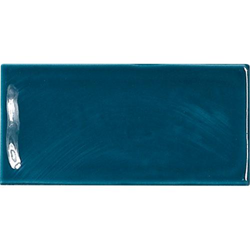 Azulejo de decoración glamour de pasta roja azul