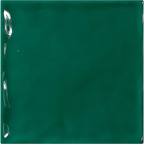 Azulejo de decoración chic de pasta roja verde