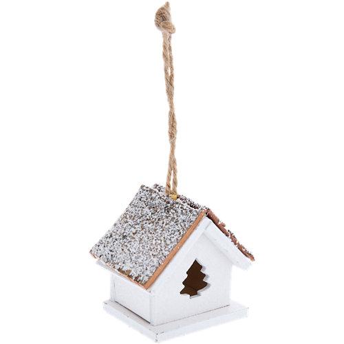 Adorno colgante casa nevada 4 cm