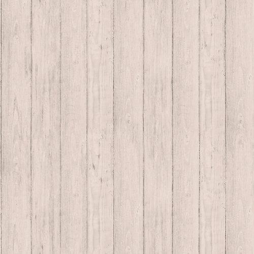 Papel láminas madera beige 5,3 m²