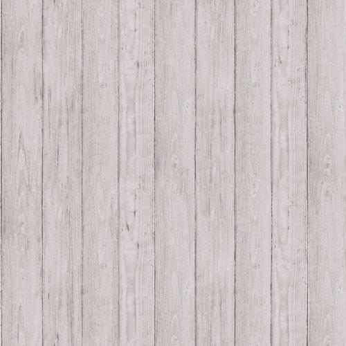 Papel láminas madera gris 5,3 m²