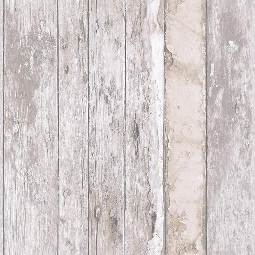 Papel tablas madera gris 5,3 m²