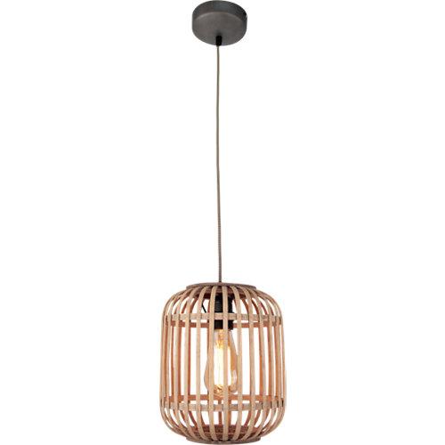 Lámpara de techo miva 1 luz ratán
