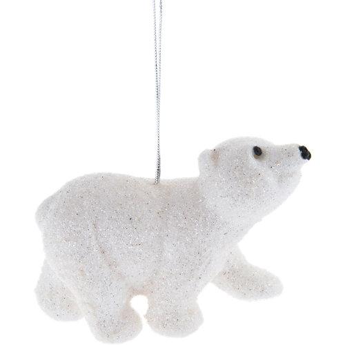 Adorno colgante oso polar 8,5 cm